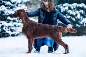 Randi Ingerman on the snow